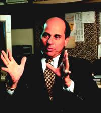Zander gesturing with hands